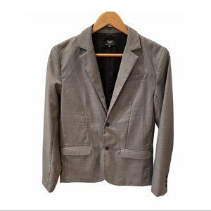 Nordstrom Bardot Gray Lined Blazer Sports Coat 16